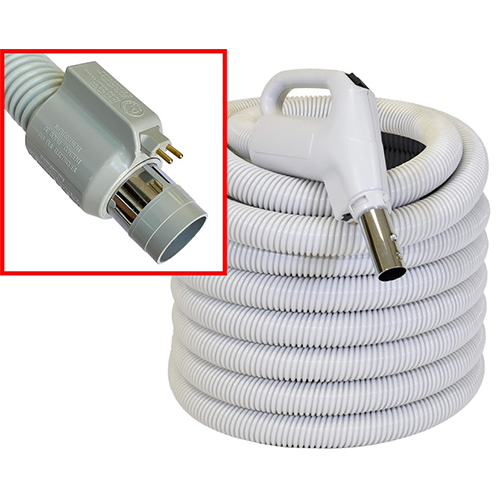 35′ High & Low Voltage Direct Connect Hose - Gary's Vacuflo